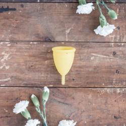 Cup vaginale jaune taille 2